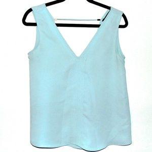 Zara Basic Pale Blue Blouse